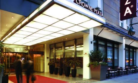The Crown Plaza Berlin