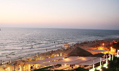The beach Sharon Hotel