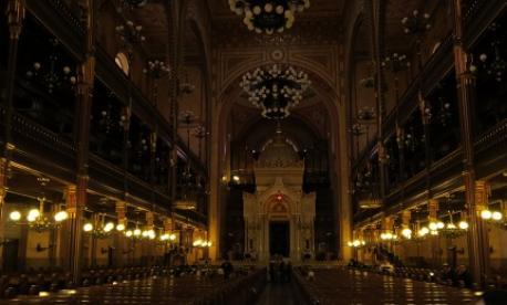 Interior of Dohany Synagogue